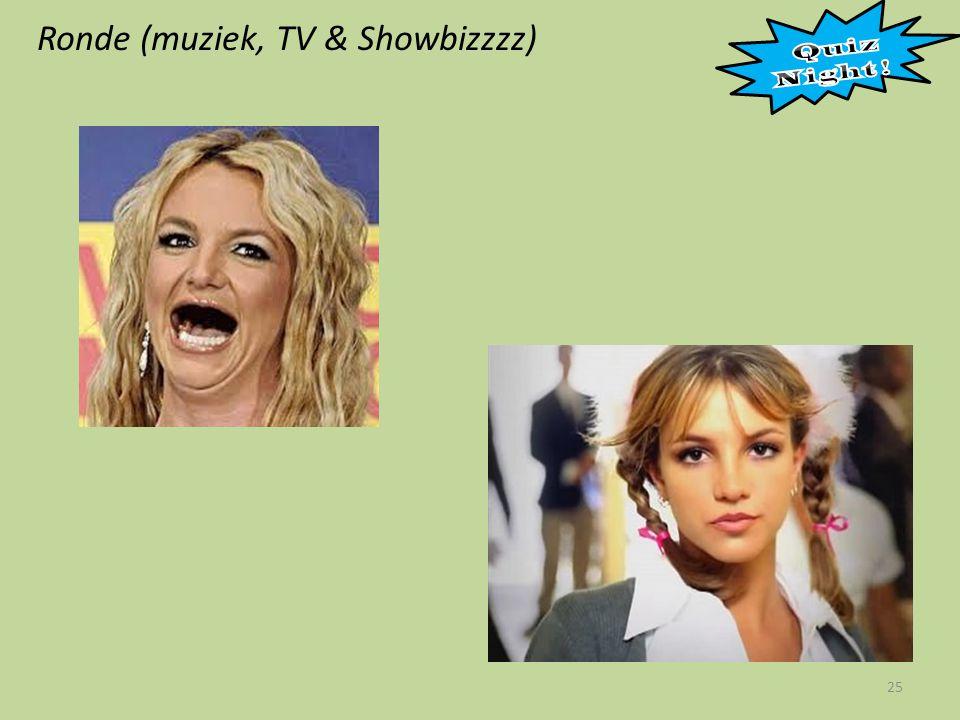 Ronde (muziek, TV & Showbizzzz) 25