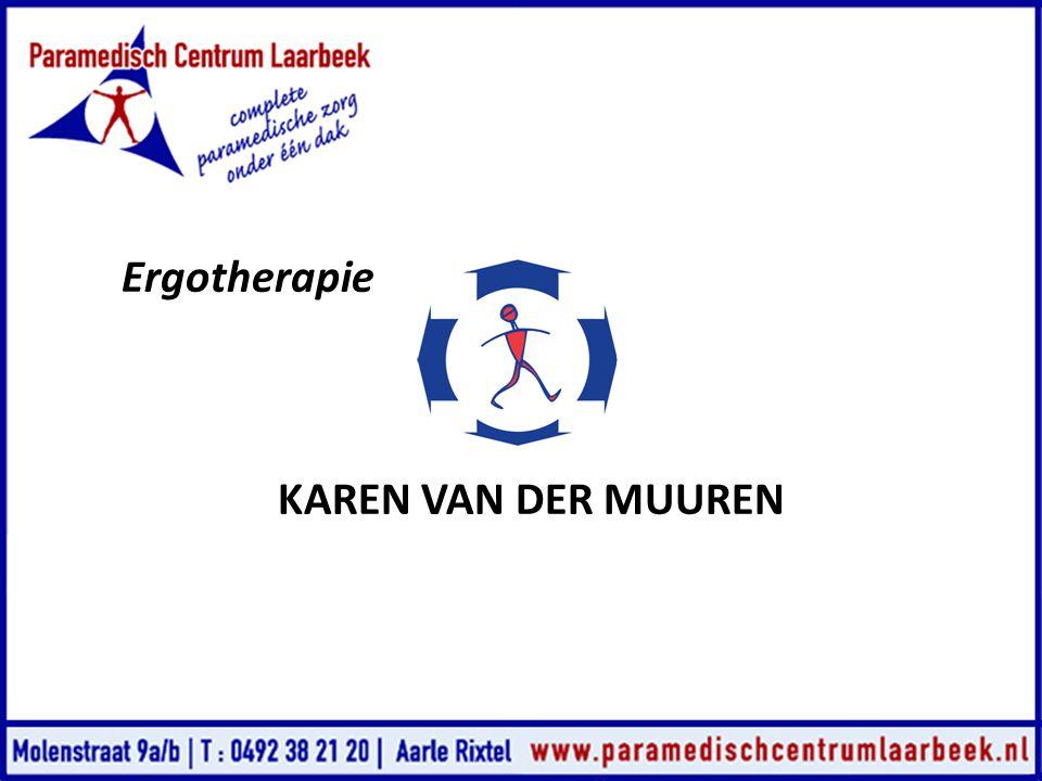 Ergotherapie KAREN VAN DER MUUREN