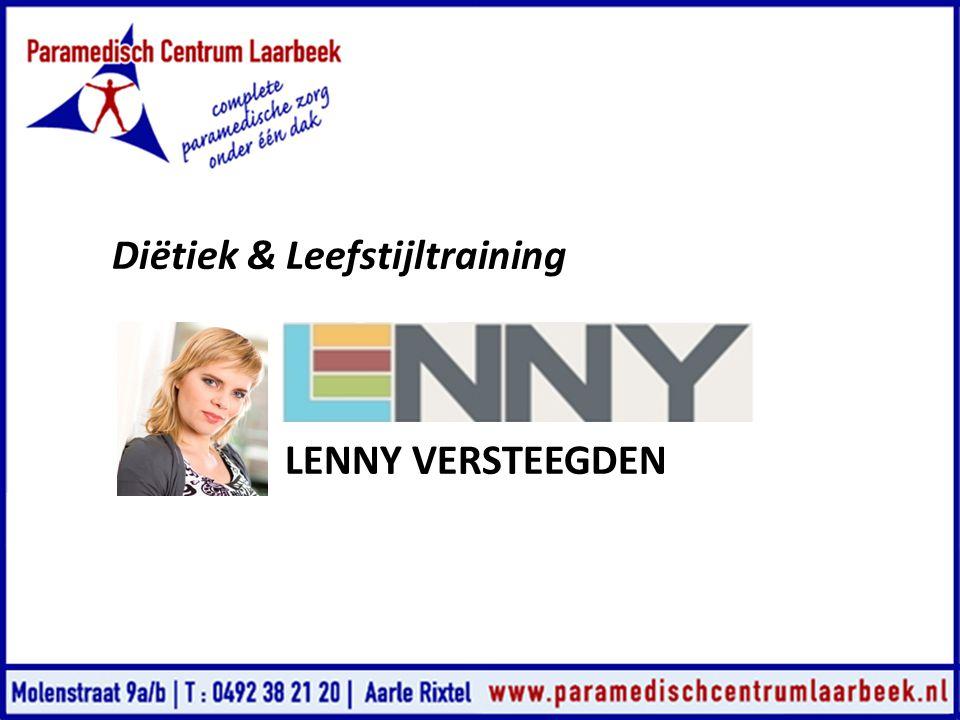 Diëtiek & Leefstijltraining LENNY VERSTEEGDEN