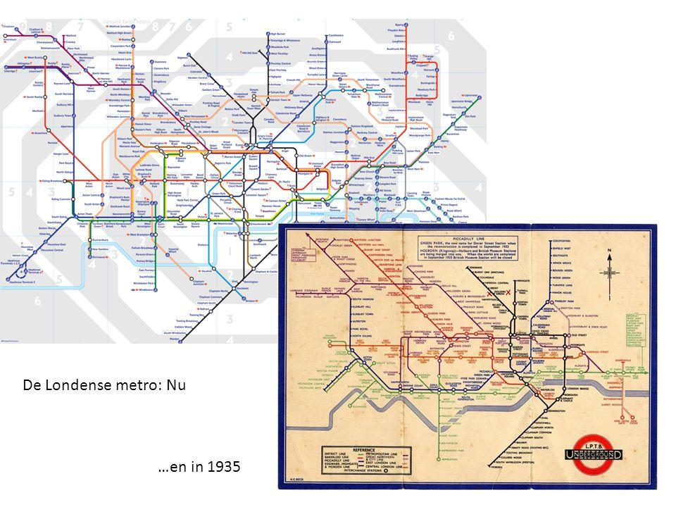 De Londense metro: Nu …en in 1935
