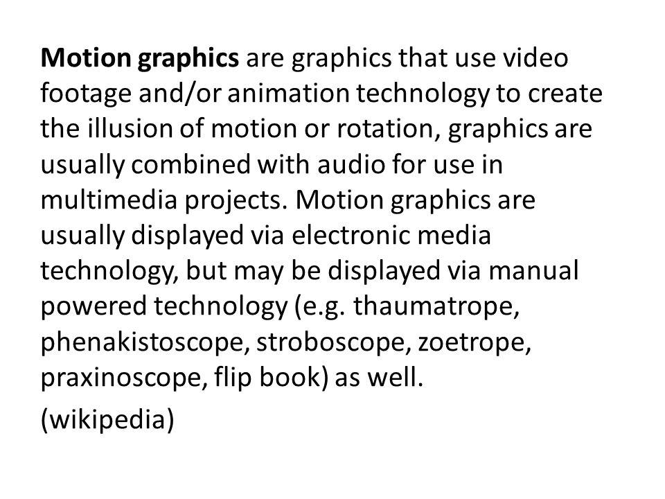 Electronic media?