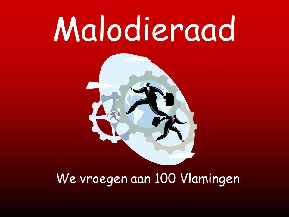 Malodieraad We vroegen aan 100 Vlamingen