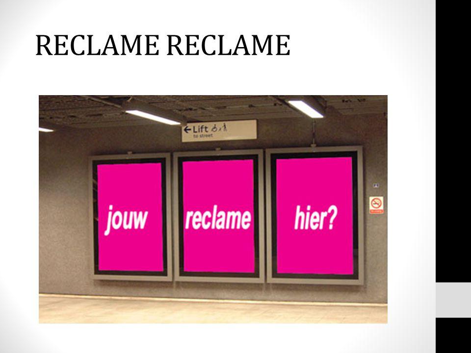 RECLAME RECLAME