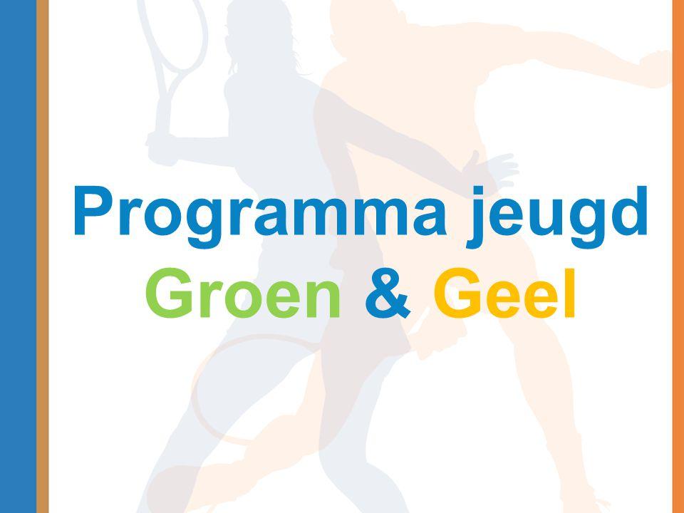 Programma jeugd Groen & Geel