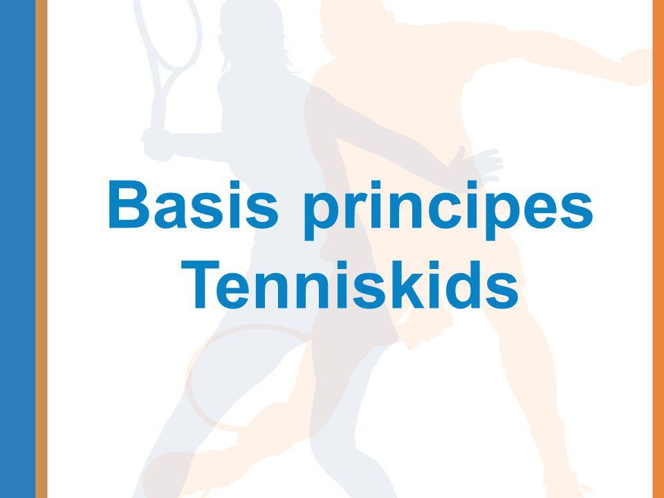 Recreatieve toernooien •Beginnende tennissers •Rood en oranje •Korte wedstrijdjes, 1 dagdeel •Kennismaking, nadruk niet op winnen •Aparte kalender, aanvullend op de Worldtour