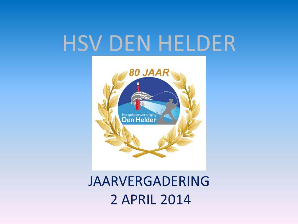 HSV DEN HELDER JAARVERGADERING 2 APRIL 2014