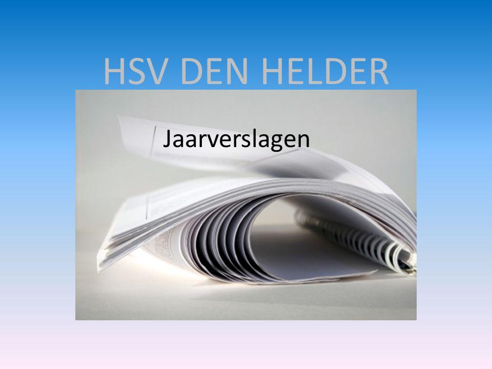 HSV DEN HELDER Jaarverslagen