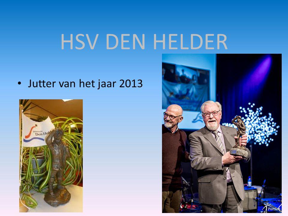 HSV DEN HELDER • Jutter van het jaar 2013
