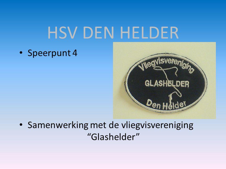 "• Speerpunt 4 • Samenwerking met de vliegvisvereniging ""Glashelder"""