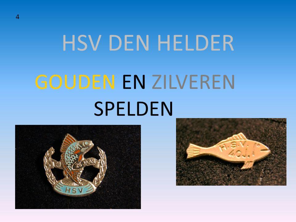 HSV DEN HELDER GOUDEN EN ZILVEREN SPELDEN 4
