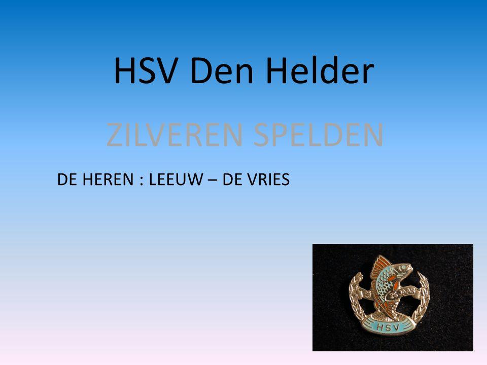 HSV DEN HELDER • Speerpunt 8 • De gesprekken met de gemeente en hoogheemraadschap zijn gestart om wateren te beheren met betrekking tot beschoeiing en waterdieptes.