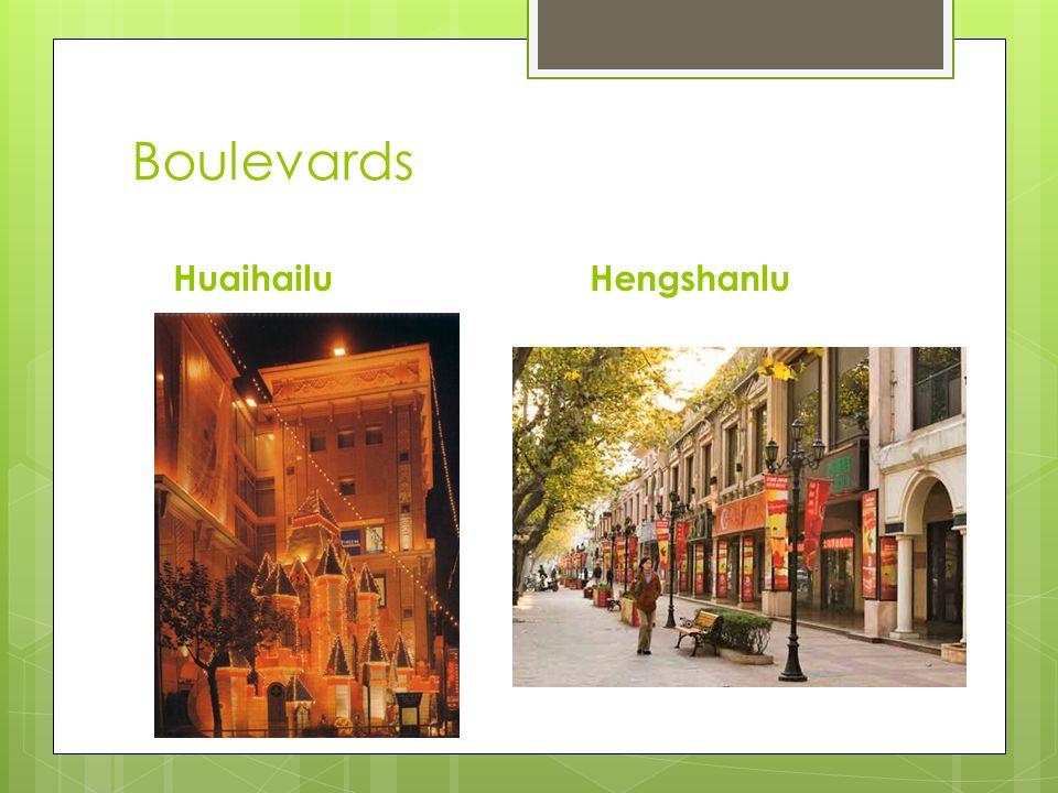 Boulevards HuaihailuHengshanlu