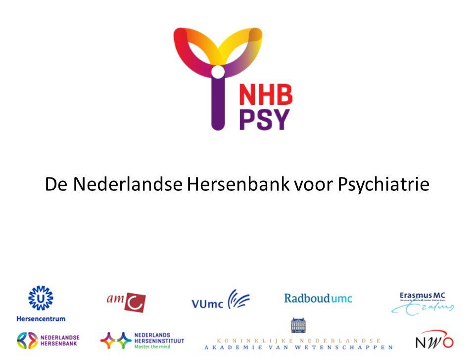 De Nederlandse Hersenbank voor Psychiatrie
