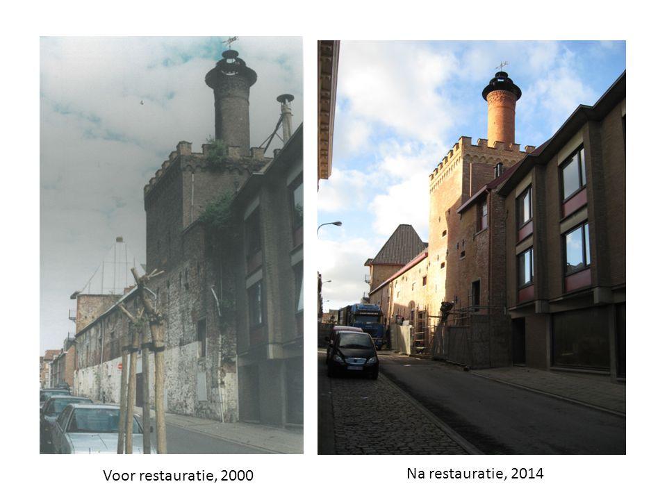 Voor restauratie, 2000 Na restauratie, 2014