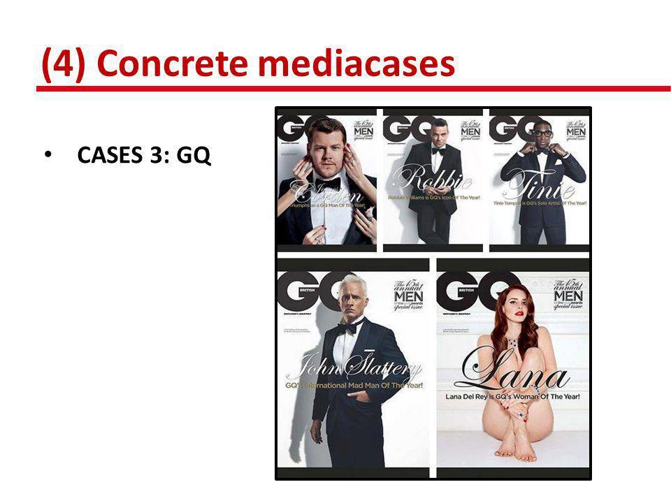 (4) Concrete mediacases • CASES 4/5: TER ZAKE/ HET JOURNAAL