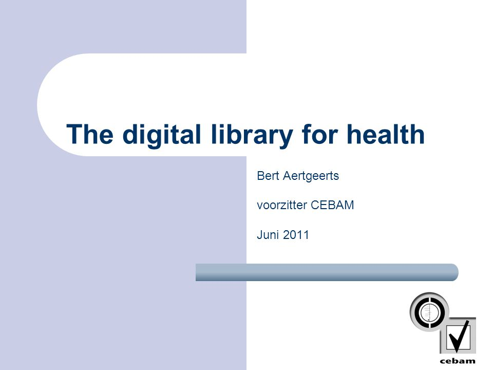 Digitale Bibliotheek Gezondheidszorg Core Collections in the primary literature Cochrane Database for systematic reviews Clinical Excellence Guide to Guidelines Indexes (Medline, Invert, Embase) UNI- QUE INTER FACE Research Search Engine Practice Search Engine Factual databases EBM -CME Publications in the mother tongue Help line Clinical medical Librarian 2002!