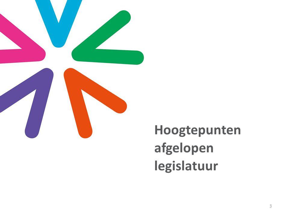 Hoogtepunten afgelopen legislatuur 3
