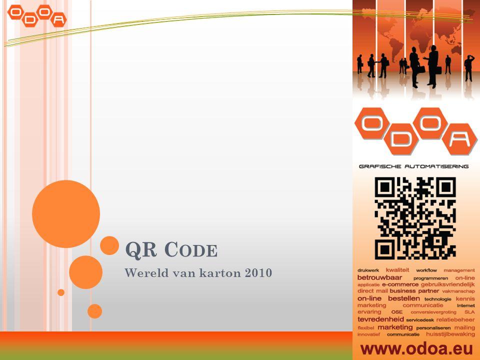 QR C ODE Wereld van karton 2010