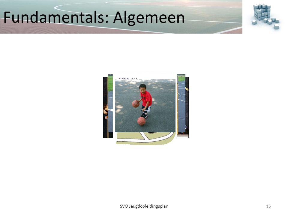 Fundamentals: Algemeen 15SVO Jeugdopleidingsplan