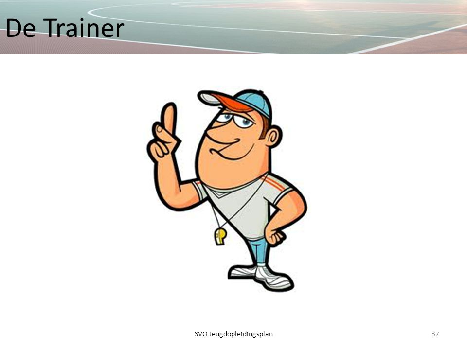 De Trainer 37SVO Jeugdopleidingsplan