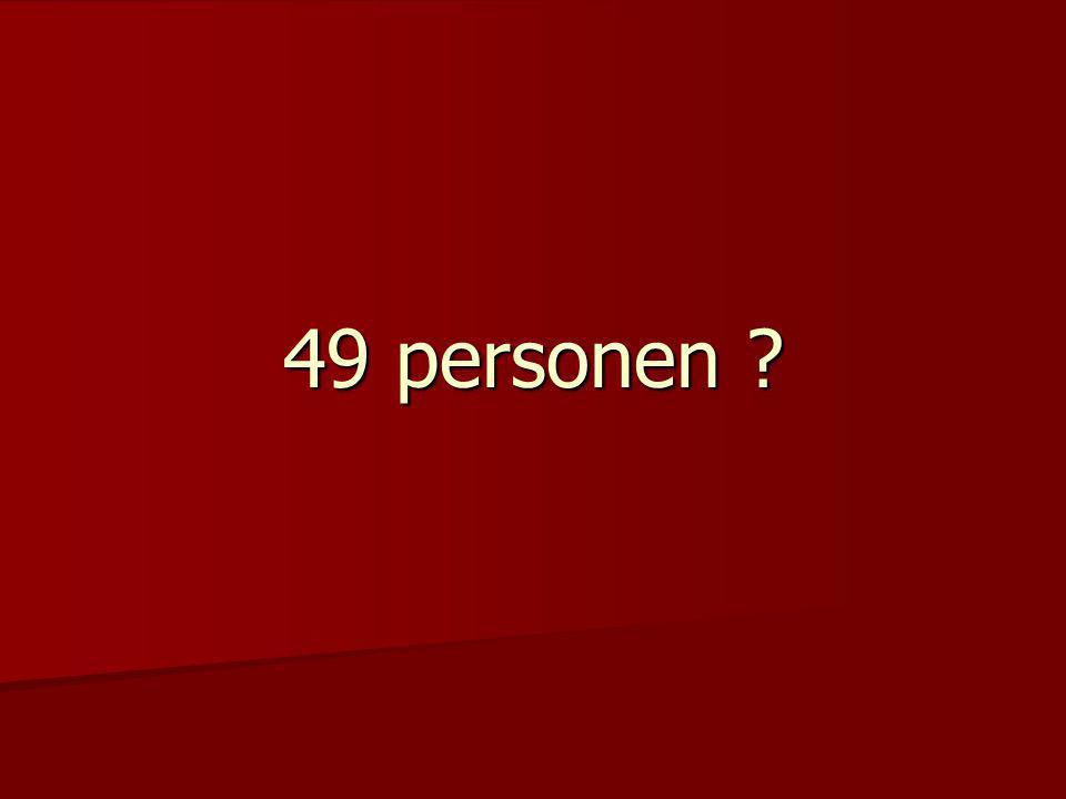 49 personen ?