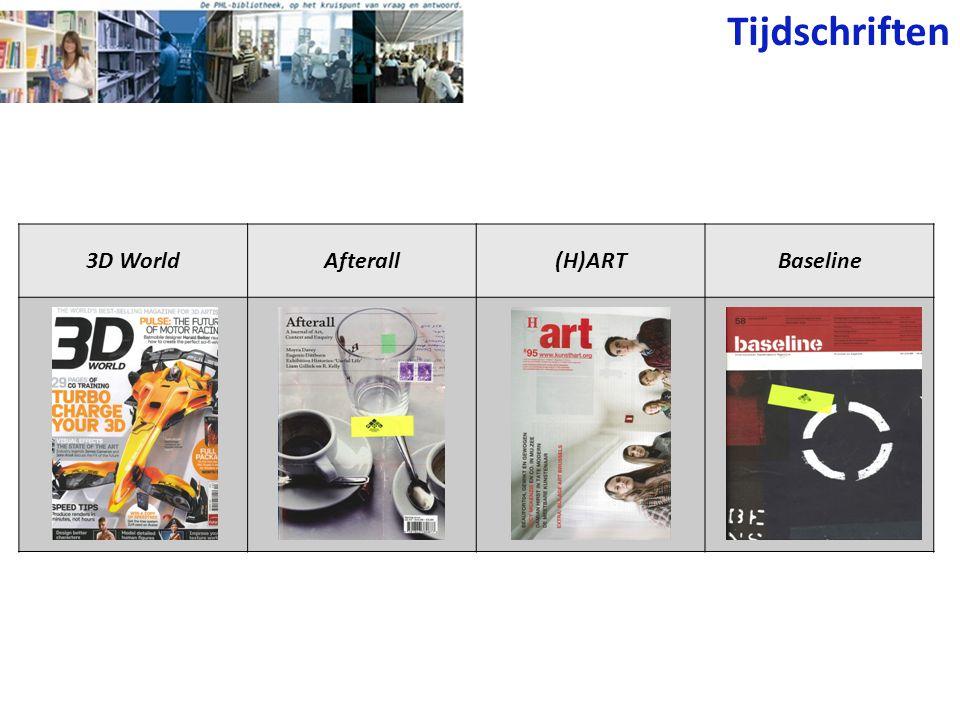 Tijdschriften 3D WorldAfterall(H)ARTBaseline