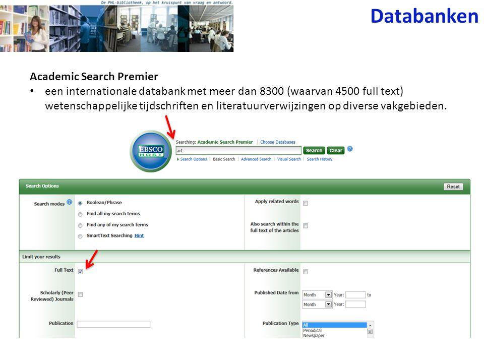 Databanken Leerrijk • online naslagwerk van uitgever Plantyn.