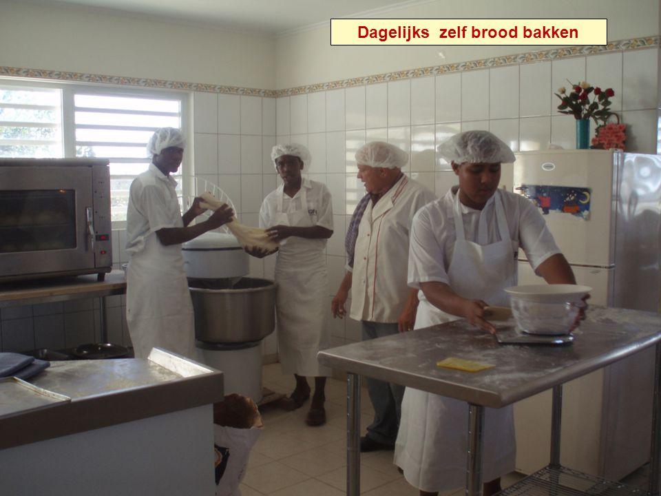 Dagelijks zelf brood bakken