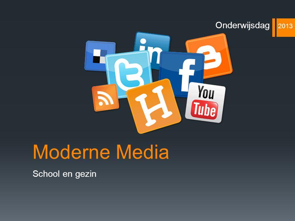 Moderne Media School en gezin Onderwijsdag 2013