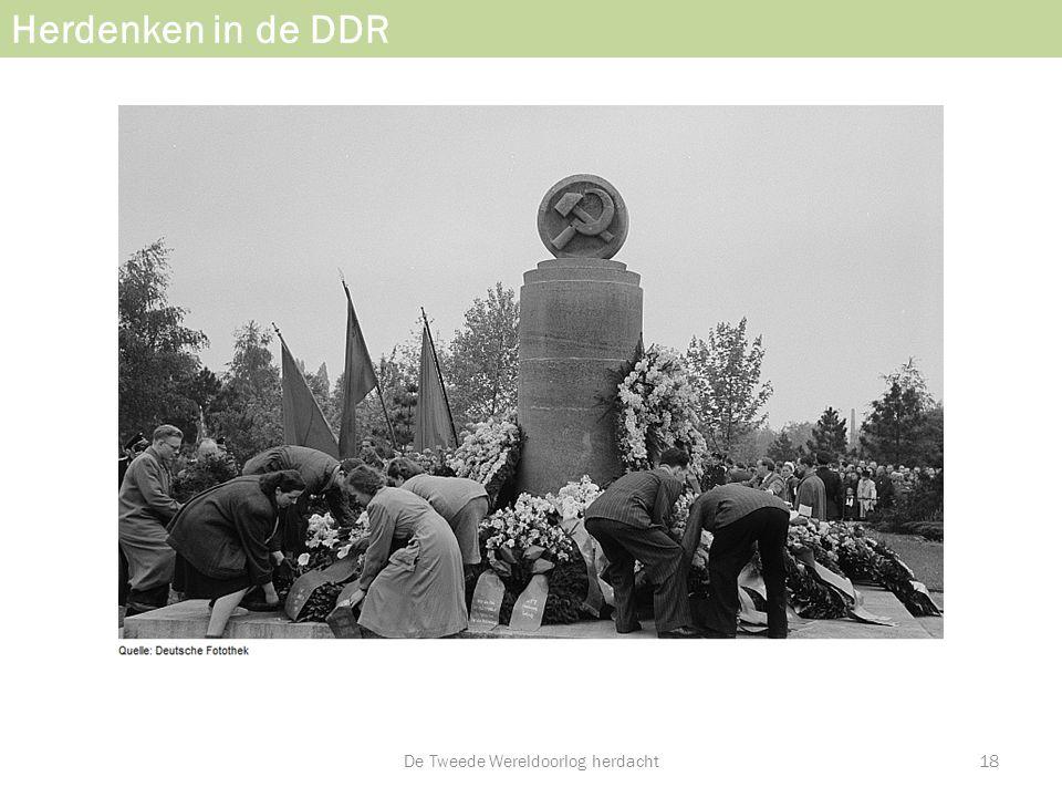 Herdenken in de DDR De Tweede Wereldoorlog herdacht18