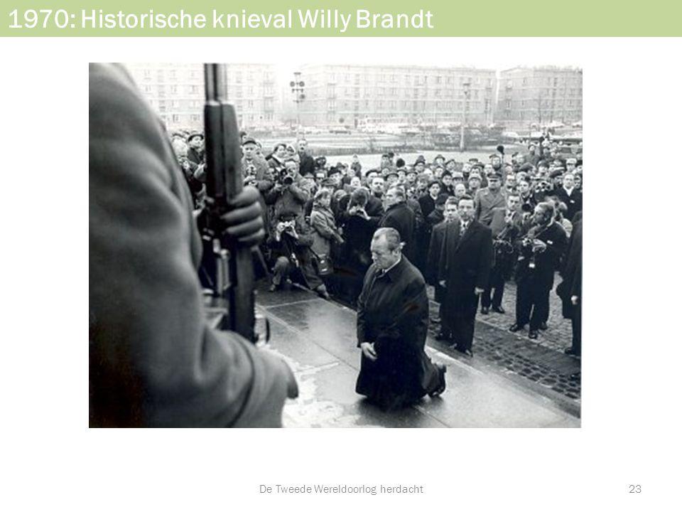1970: Historische knieval Willy Brandt De Tweede Wereldoorlog herdacht23