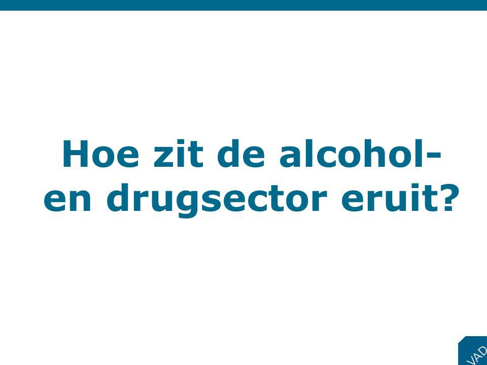 Hoe zit de alcohol- en drugsector eruit?
