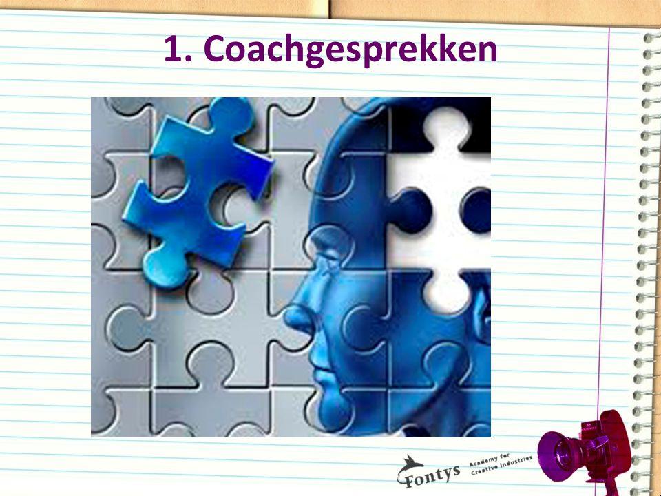 1. Coachgesprekken