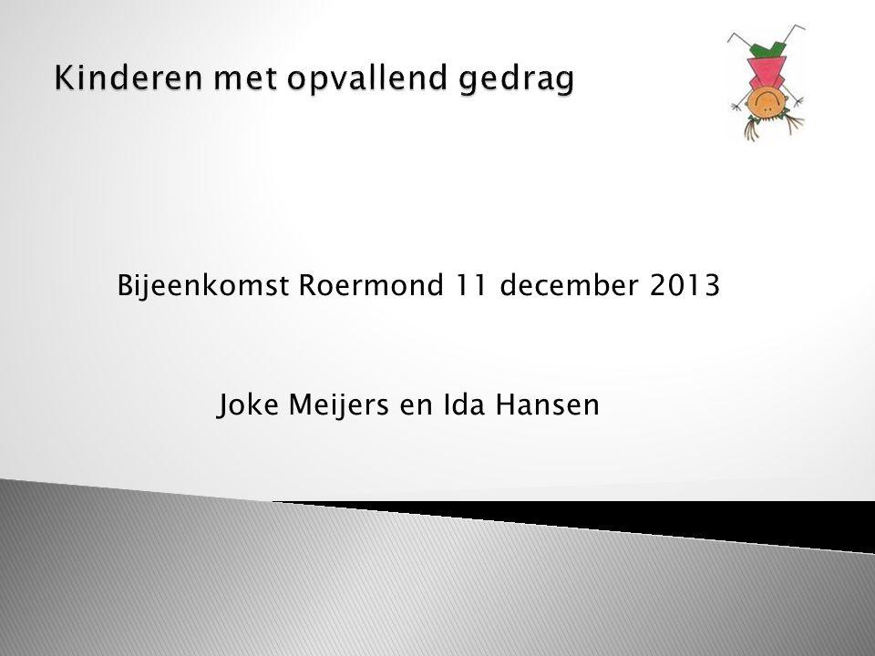 Bijeenkomst Roermond 11 december 2013 Joke Meijers en Ida Hansen