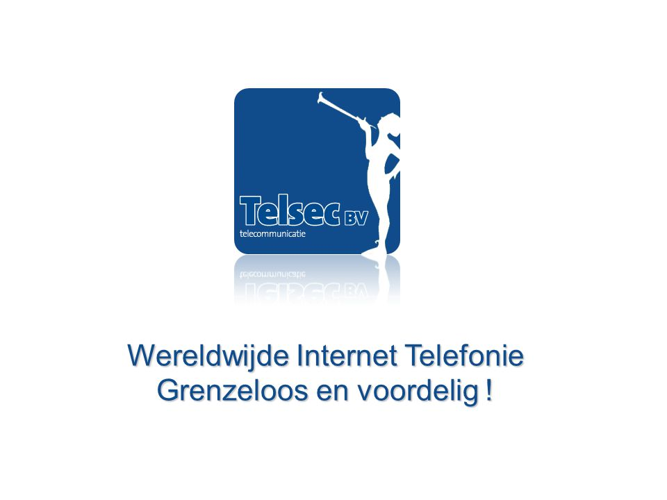 Presentatie Bedrijf XYZ 9 juni 2010 Telsec: VoIP binnen handbereik…
