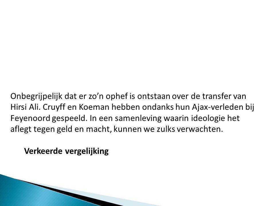 In het artikel van M.A.Jansen werd ik beschuldigd van dierenmishandeling.