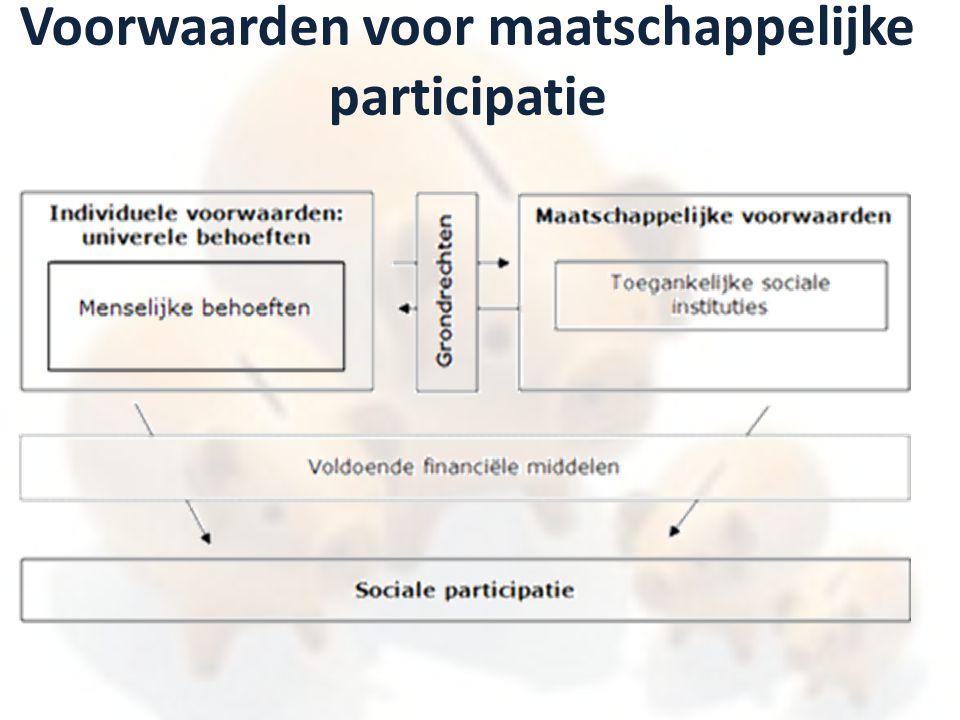 Referentiebudgetten voor maatschappelijke participatie: achterliggend theoretisch kader