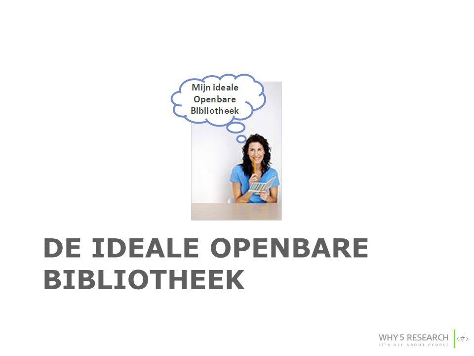 21 DE IDEALE OPENBARE BIBLIOTHEEK