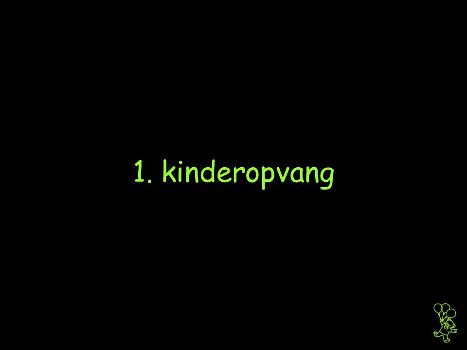 1. kinderopvang