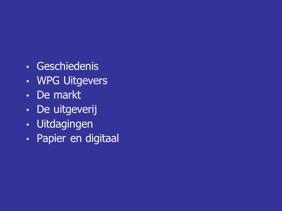 Prijsstelling (kostenstructuur van de uitgeverij) 106 incl.