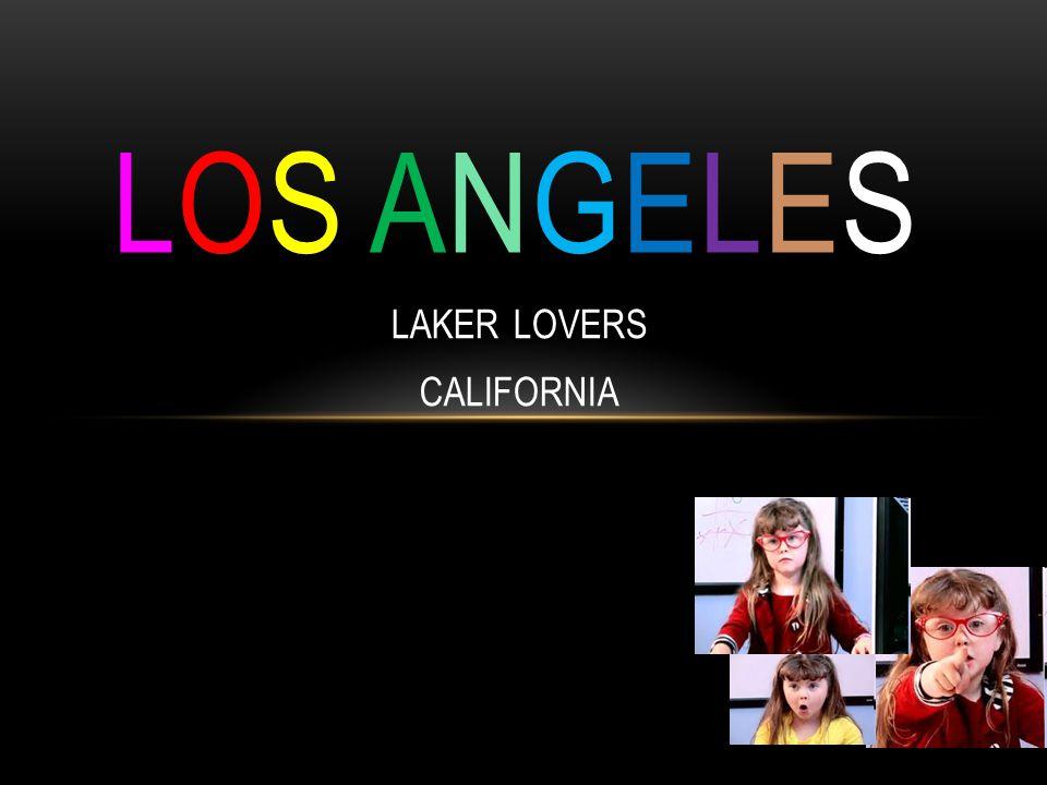 LAKER LOVERS CALIFORNIA LOS ANGELESLOS ANGELES