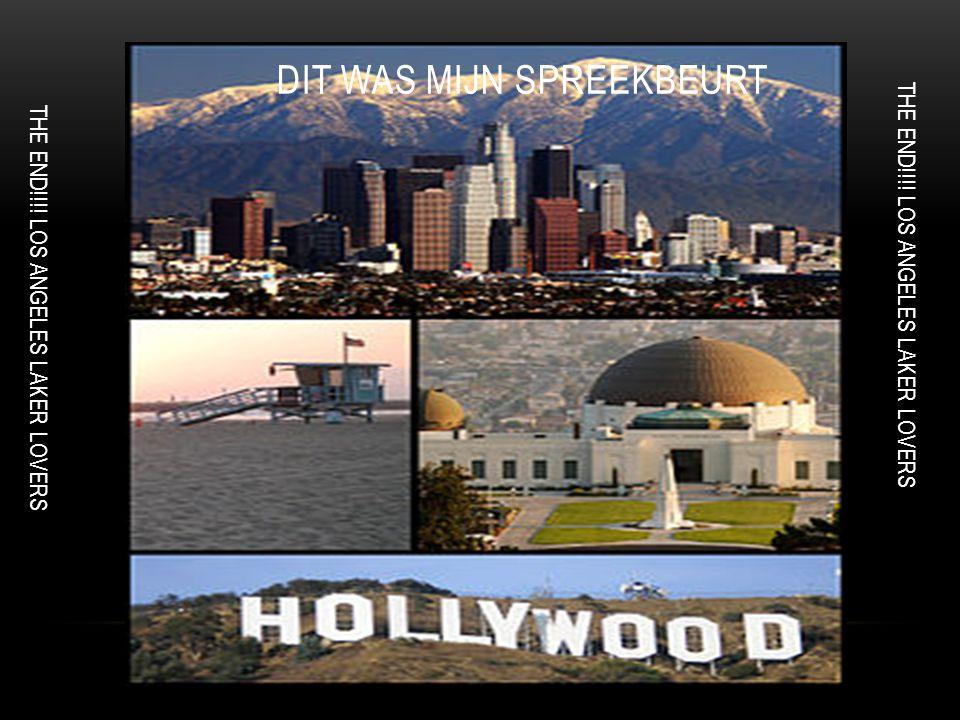 bekende dingen california