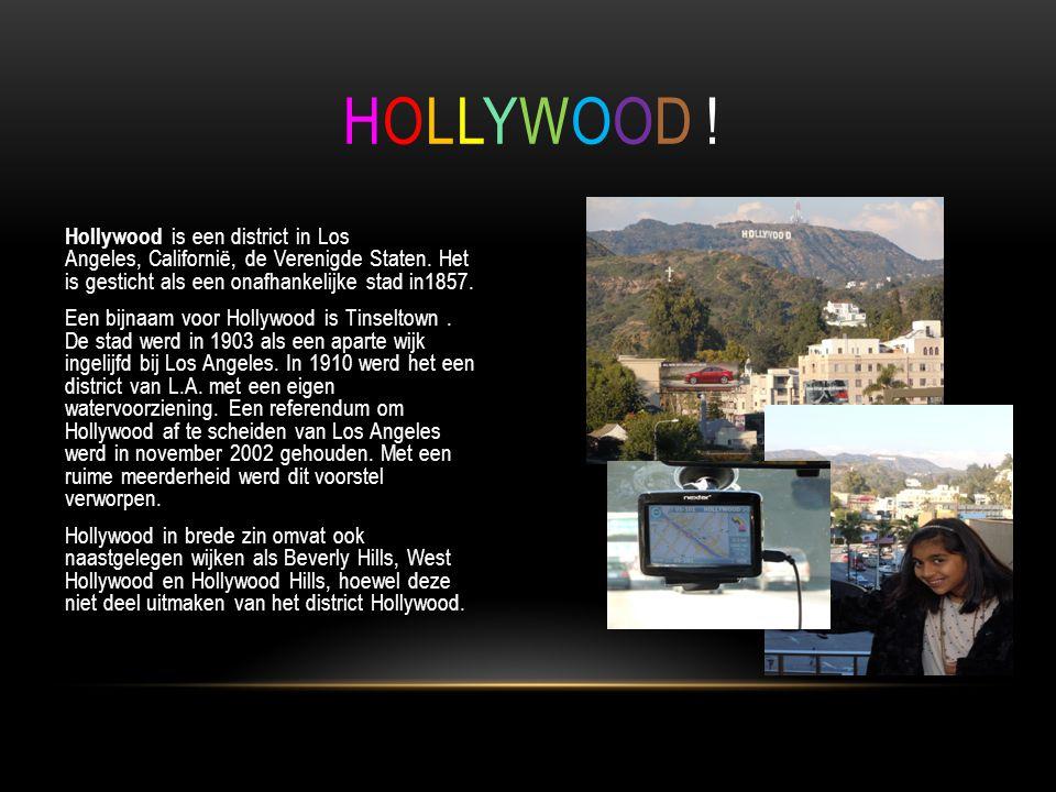 Hollywood is een district in Los Angeles, Californië, de Verenigde Staten.