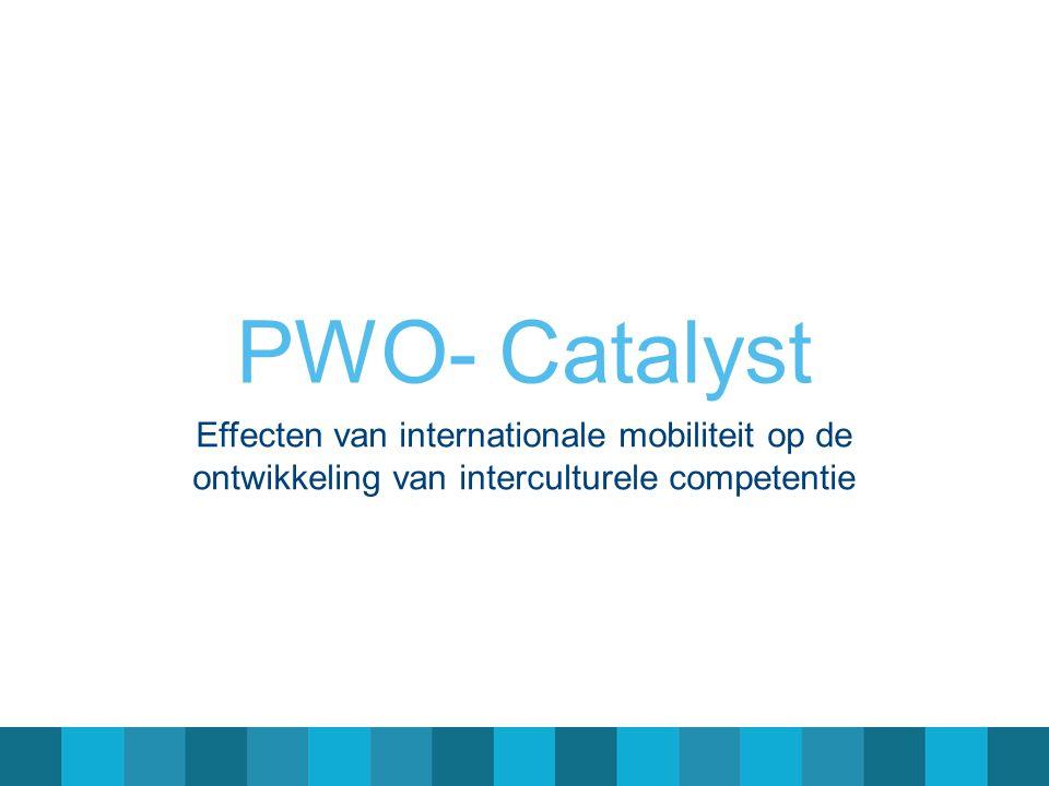 PWO- Catalyst Effecten van internationale mobiliteit op de ontwikkeling van interculturele competentie
