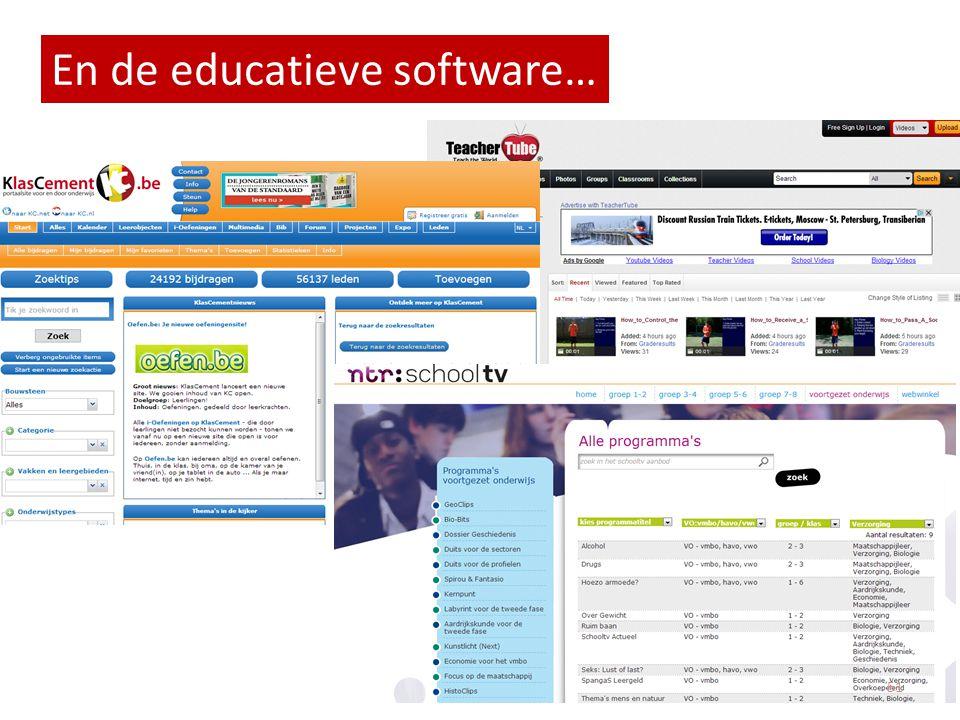 School TV Databanken Video's En de educatieve software… 51
