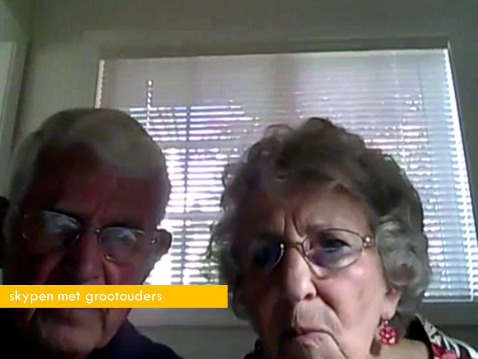 23 skypen met grootouders