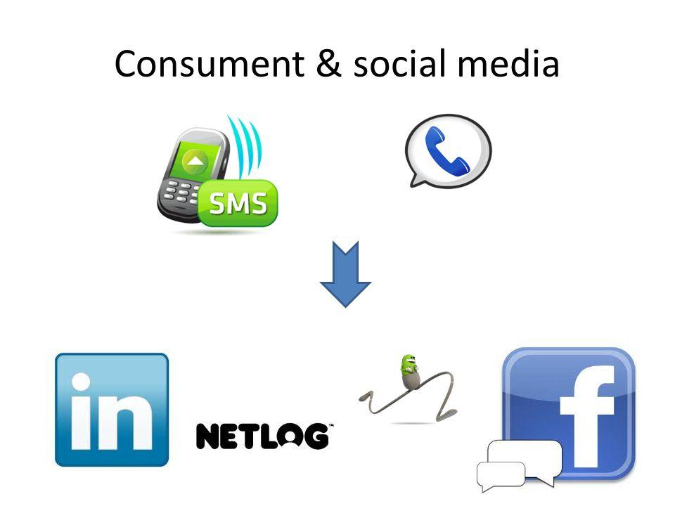 Consument & social media