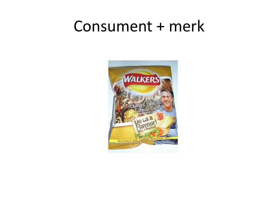 Consument + merk