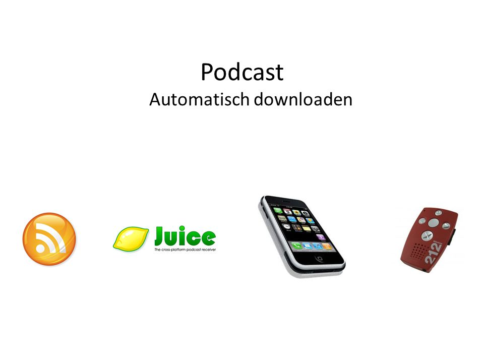 Podcast Automatisch downloaden