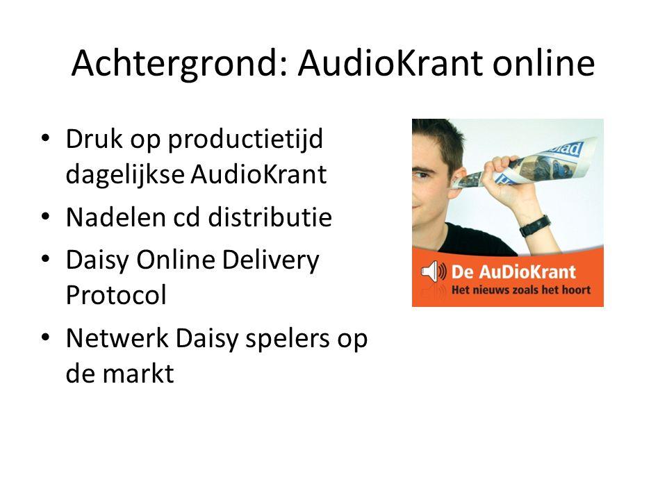 Anderslezen.be • Gezamenlijk online distributieplatform in Vlaanderen: « Online Daisy » • Eén toegangspunt voor online toegankelijke lectuur – Sinds eind mei 2011: 2 kranten (Kamelego) – Vanaf 2012: ± 10 magazines (PHK) – Toekomst: ±15.000 boeken (Luisterpunt) – Andere lectuur is steeds welkom.